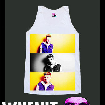 worldwide shipping just 7 days JUSTIN BIEBER shirt singlet tank top 10308