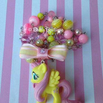 Fluttershy - My Little Pony Necklaces - MLP:FiM