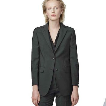 Officine Generale W375 Wool and Mohair Blazer