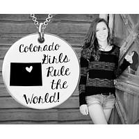 Colorado Girls Necklace | Colorado State