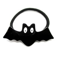 Cute Acrylic Bat Shaped Animal Themed Hair Tie Pony Tail Holder | DOTOLY