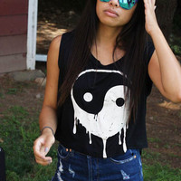 Positive in Energy Yin-Yang Graphic Tee - Large (Final Sale)