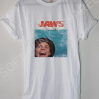 Ashton Irwin 5SOS JAWS Movie Poster Edit Tshirt