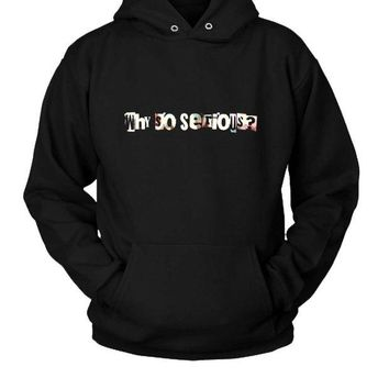 DCCKL83 Why So Serious Joker Hoodie Two Sided