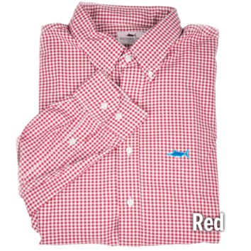 Grass Roots Gingham Sport Shirt