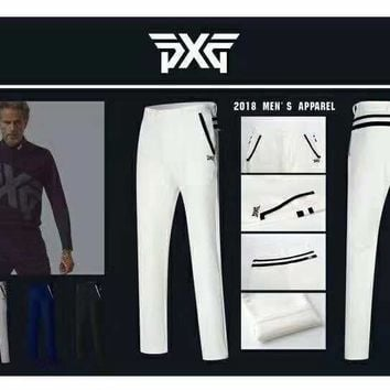 [SHOPGO] new Autumn Winter Men's PXG Golf Pants Outdoor Clothing Clothes Sportswear Breathable Pant For Men
