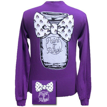ECU East Carolina Pirates Mason Jar Big Bow Girlie Bright Long Sleeves T Shirt