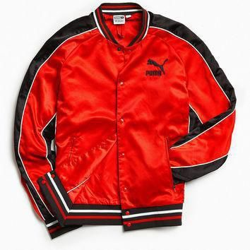puma super puma satin bomber jacket urban outfitters  number 2