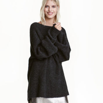 H&M Oversized Mohair-blend Sweater $69.99