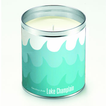 Kate's Blue Waves Candle
