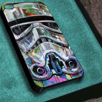 star wars stormtrooper pop art customized for iphone 4/4s/5/5s/5c ,samsung galaxy s3/s4/s5 and ipod 4/5 case