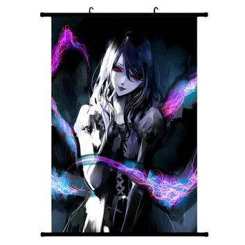 Tokyo Ghoul Manga Series Japan Anime Hot Art Poster Silk Light Canvas Painting Print Home Decor Wall Picture