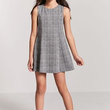 Girls Glen Plaid Dress (Kids)
