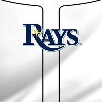 MLB Tampa Bay Rays iPad Mini 3 Skin - Tampa Bay Rays Home Jersey Vinyl Decal Skin For