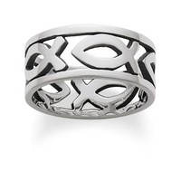 Continuous Ichthus Band | James Avery
