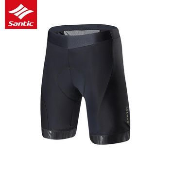 Santic Cycling Shorts Men 2018 New Pro Padded 1/2 Riding Shorts Bike Tour De France Road Bicycle Shorts Culotte Ciclismo