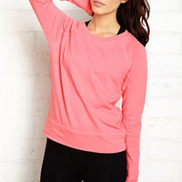Sporty French Terry Pullover