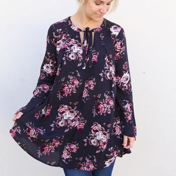 Floral Confessions Tunic