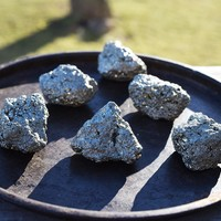 Pyrite Fool's Gold Nugget, Lucky Pocket Stone, Positive Outlook & Abundance