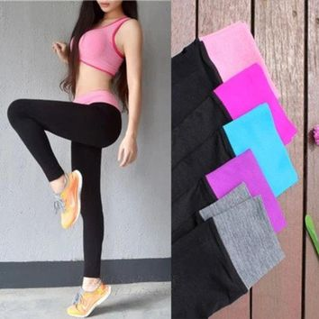 ac PEAPON Sports Casual Pants Slim Stretch Jogging Cropped Pants [10195807244]