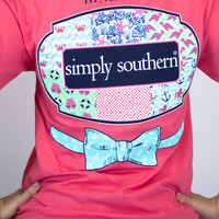 Southern Tie Simply Southern Tee Shirt