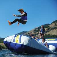 The Body Launching Inflatable - Hammacher Schlemmer