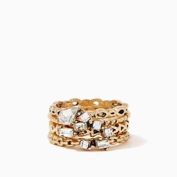 Belvoir Textured Ring Set | Fashion Jewelry - Icon | charming charlie