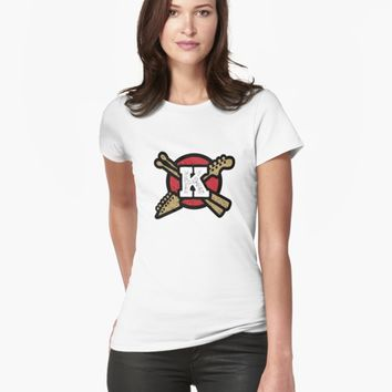 """Monogram K Vintage Rock And Roll Logo"" Unisex T-Shirt by simplymonogram 
