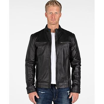 Wilson Mens Leather Jacket