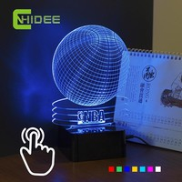 3D Led Night Light Basketball