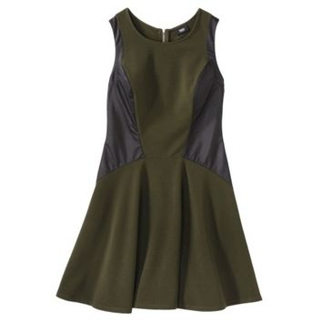Mossimo® Women's Sleeveless Ponte Skater Dress - Assorted Colors