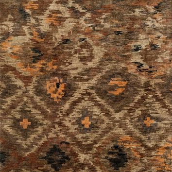 Loloi Xavier Rustic Brown Area Rug