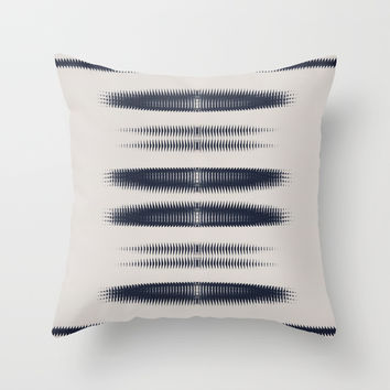 Almost Cozy glitch Throw Pillow by duckyb