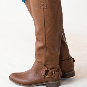 Darlin' Boots in Caramel