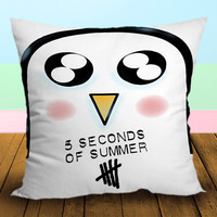 Gunter cute advanture time 5SOS - Pillow Case, Square and Rectangle One Side/Two Side.