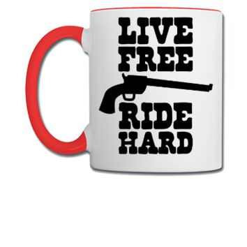 free live die hard - Coffee/Tea Mug