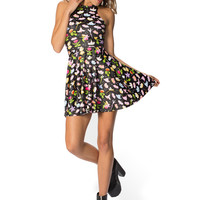 Fantasia Reversible Skater Dress