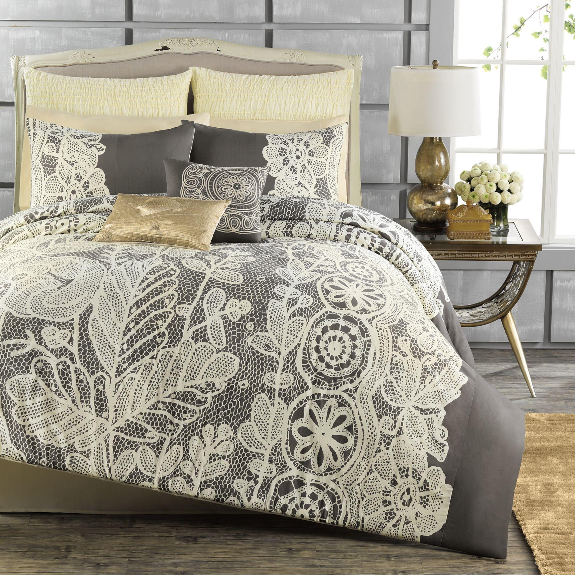 Anthology madeline reversible comforter from bed bath - Bed bath and beyond bedroom furniture ...
