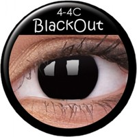 ColourVue Blackout Coloured Contacts