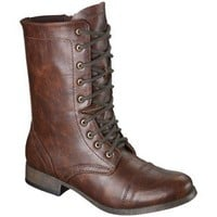 Women's Mossimo Supply Co. Kody Combat Boot - Cognac