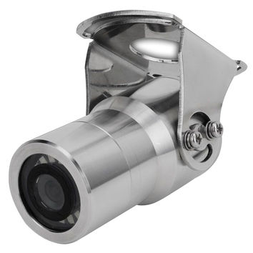 Iris 316 Stainless Steel Marine Camera  - TVL - Wide Angle - Reversible - Nitrogen Purged - Infrared
