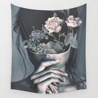 inner garden Wall Tapestry by dada22