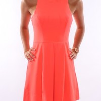 Spinaround Dress Neon Coral - Dresses - Shop by Product - Womens