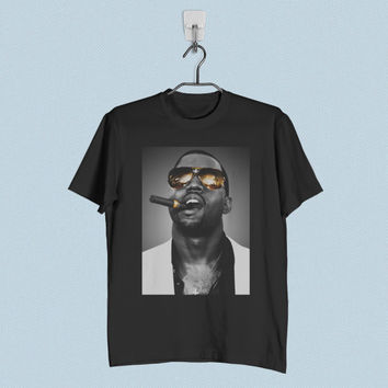Men T-Shirt - Kanye West Smoking