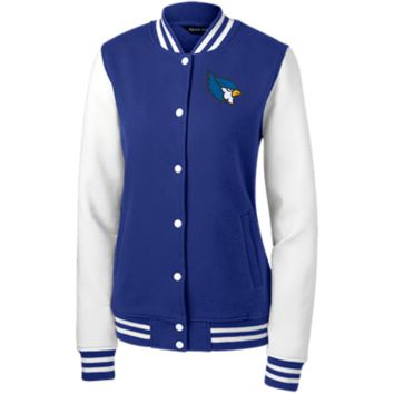 High Point Sport-Tek Women's Fleece Letterman Jacket