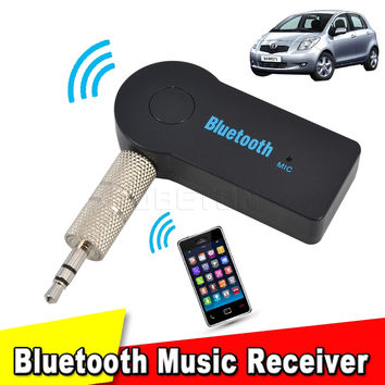 2017 Portable Receptor Bluetooth 3.5mm Streaming Home Car A2DP Wireless AUX Audio Music Receiver Adapter for Home Car Speaker