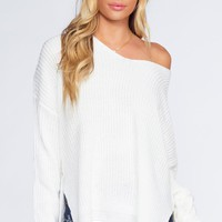 Hattie Sweater - Ivory
