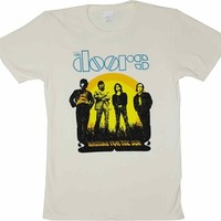 The Doors Waiting for the Sun 2-sided T-Shirt | Vintage Classic Rock T-Shirt