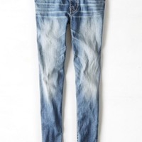 AEO Women's Hi-rise Jegging (Worn Out Blue)