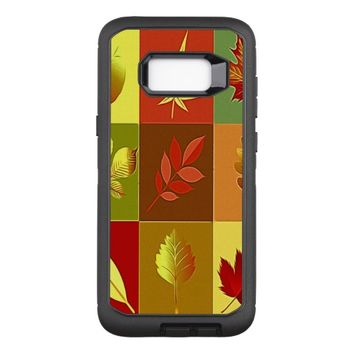 Colours in autumn OtterBox defender samsung galaxy s8+ case